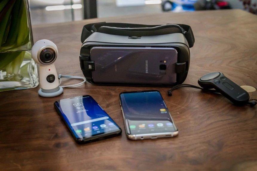 Samsung Note8 получит собственную гарнитуру Gear VR