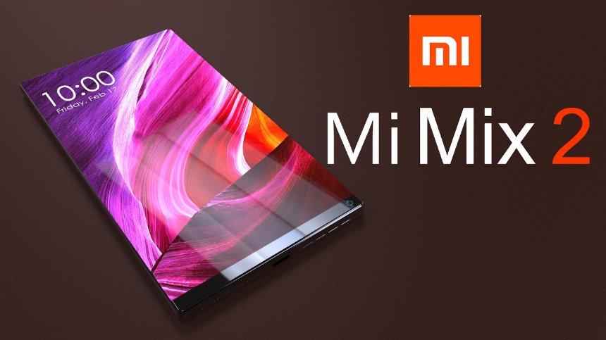 Появились первые данные о новом Xiaomi Mi MIX 2