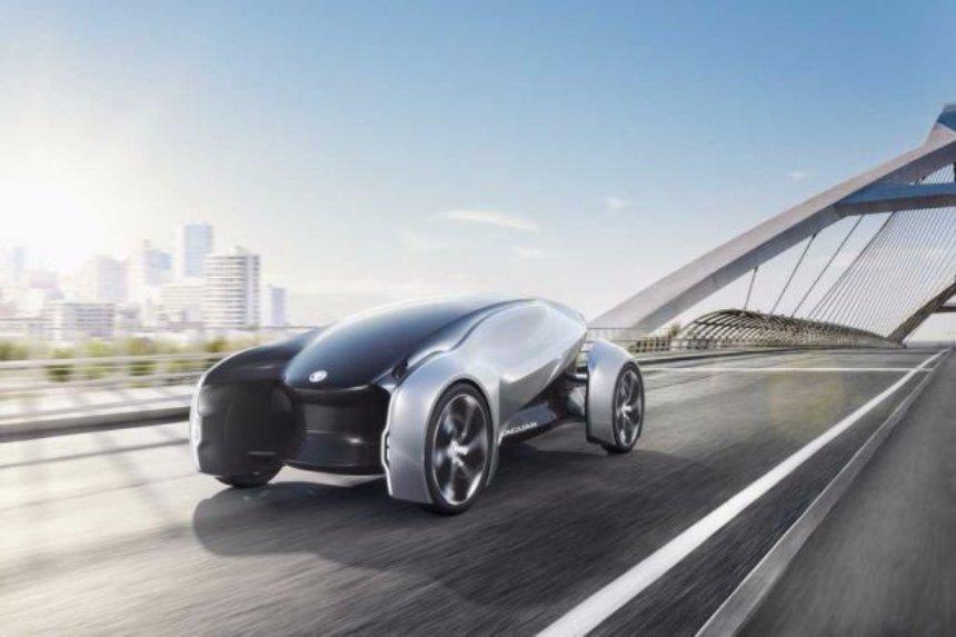 Jaguar показала новый автомобиль будущего