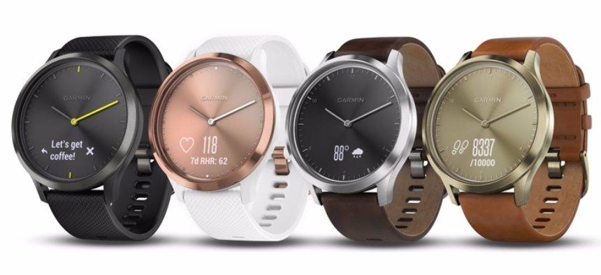 Представлены смарт-часы Garmin vívomove HR с датчиком сердечного ритма