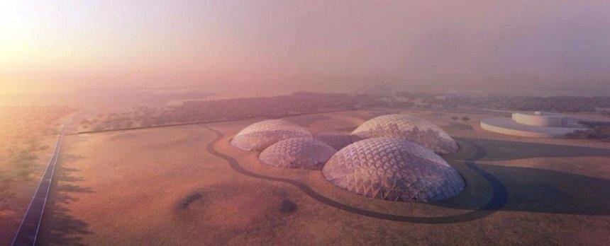 В ОАЭ возведут город для тренировок в марсианских условиях