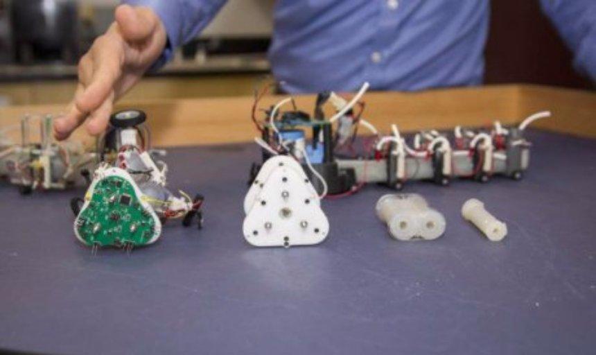 Змееподобные роботы будут искать людей под завалами