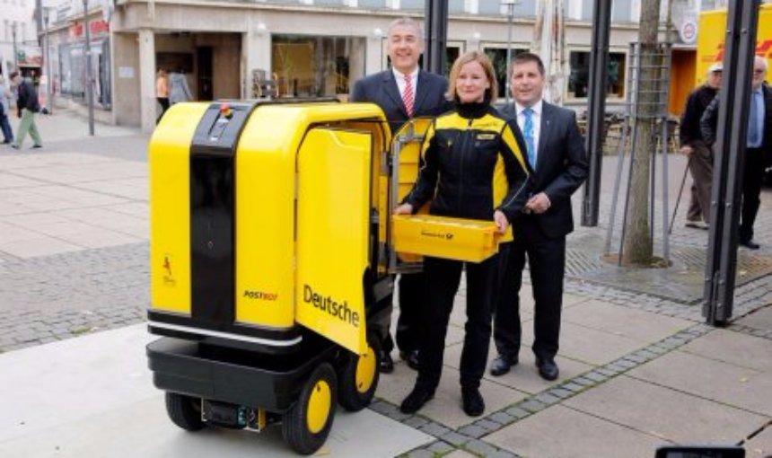 В Германии появились первые роботы-почтальоны