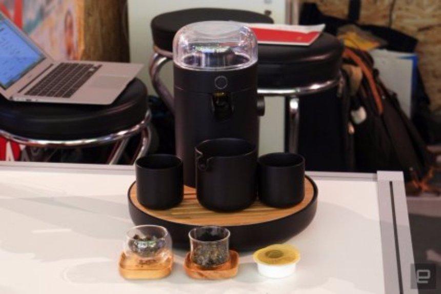 С Teamosa чай можно заваривать с помощью ультразвука