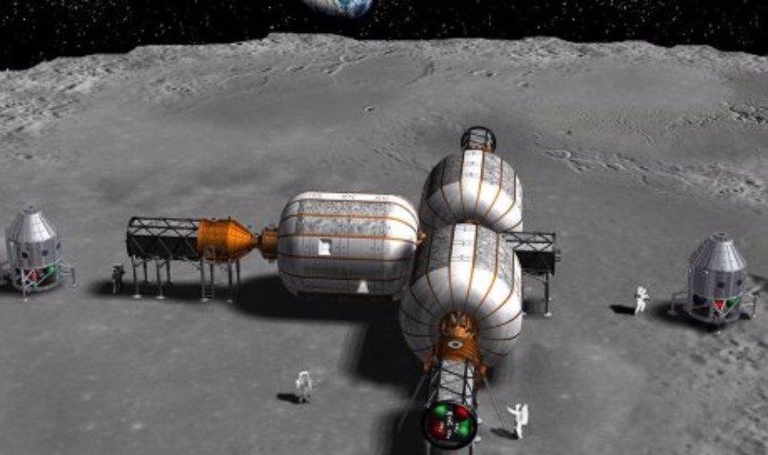 В США официально заявили, что будут строить жилую базу на Луне
