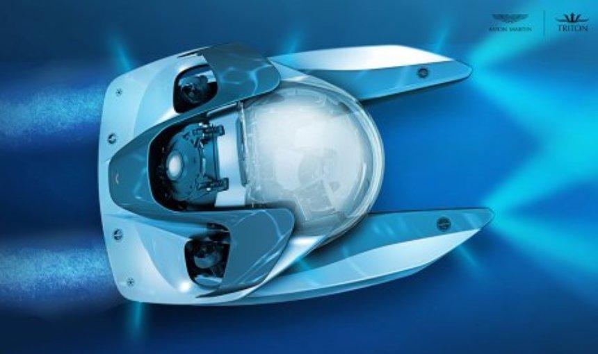 Aston Martin разрабатывает частную подводную лодку для прогулок