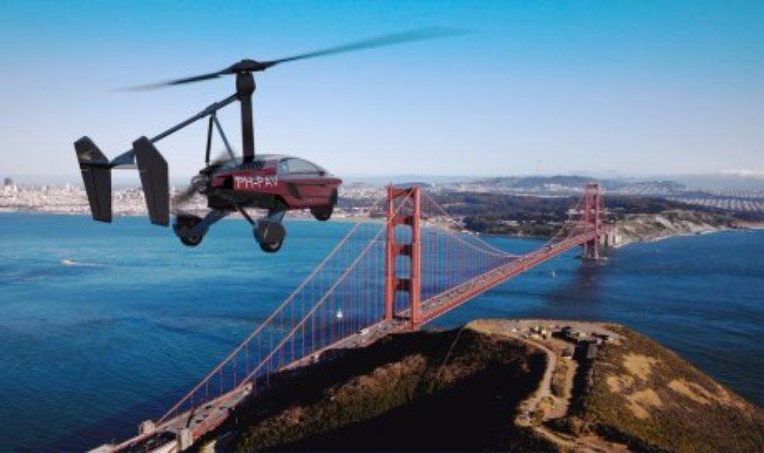 Вице-президент компании PAL-V собирается облететь весь мир на летающем автомобиле