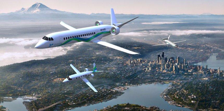 Гибридный самолет сделает авиаперелеты очень дешевыми