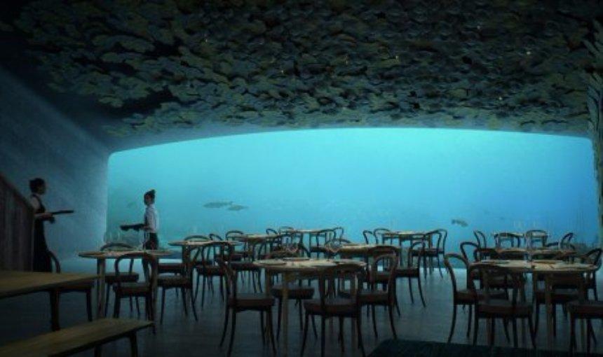 В Норвегии появится подводный ресторан
