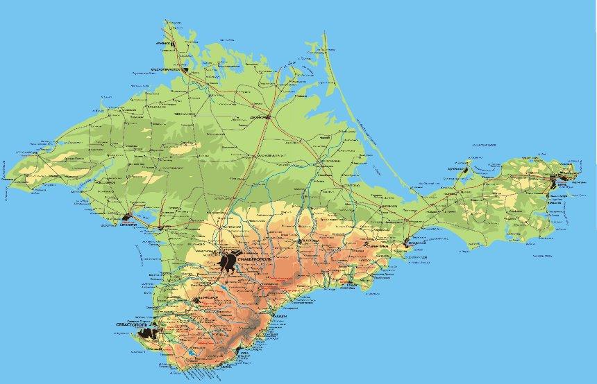 Ученые считают, что в будущем Крым станет островом