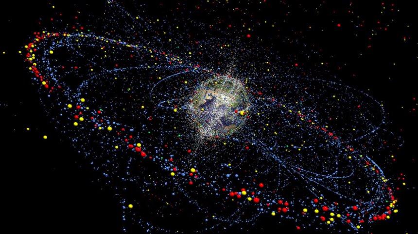Определять вид космического мусора будут с помощью лазера