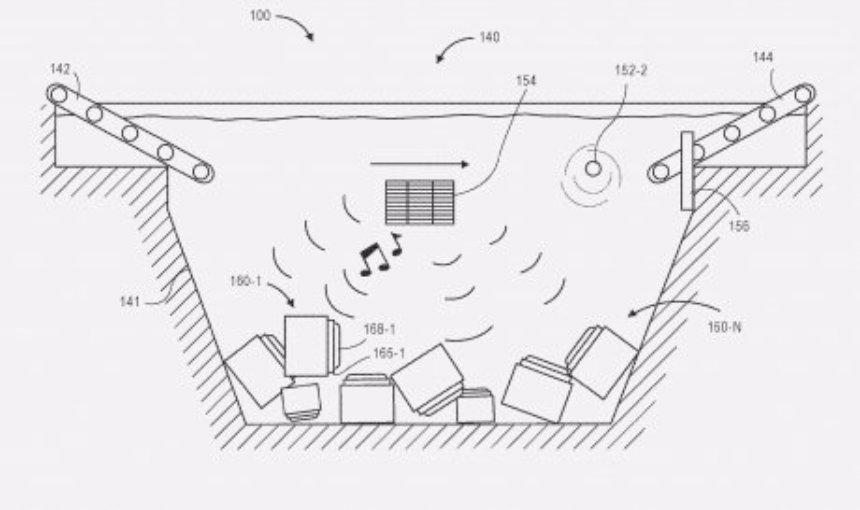 Amazon получает новый интересный патент