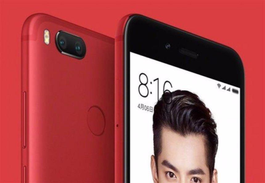 Xiaomi выпустит красную версию смартфона Mi5X