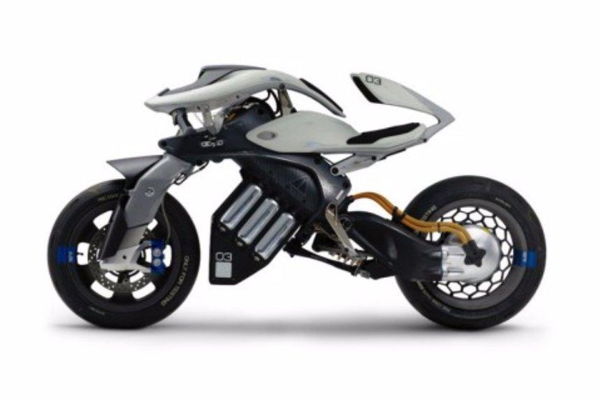 Yamaha создала мотоцикл с ИИ