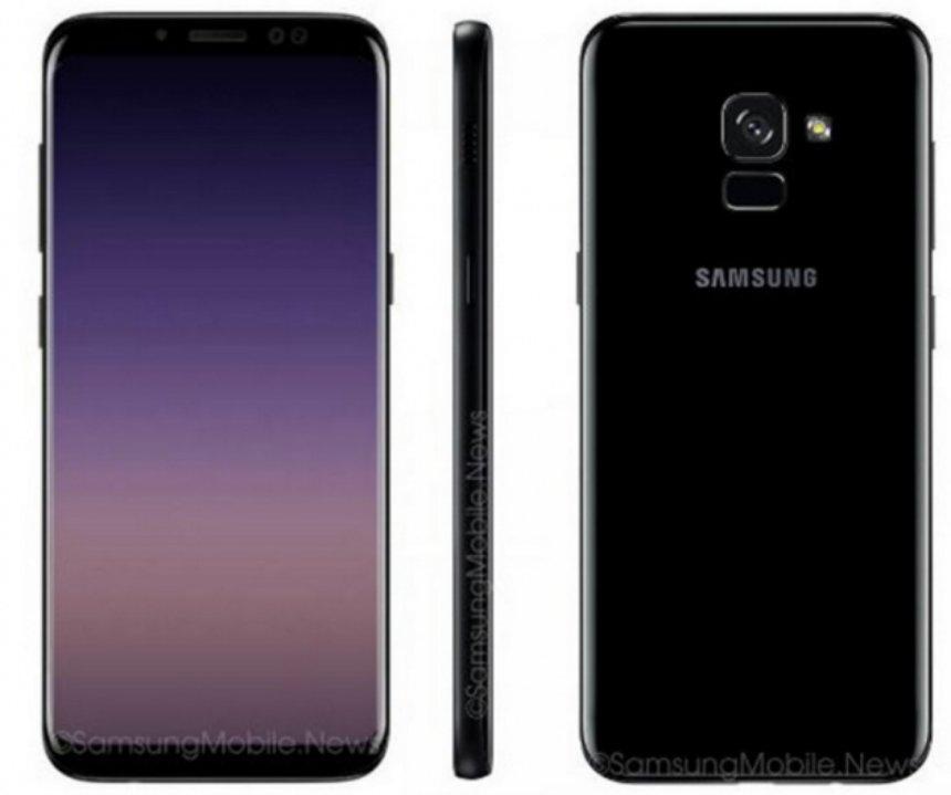 Дизайн Samsung Galaxy A5 2018 подтверждается