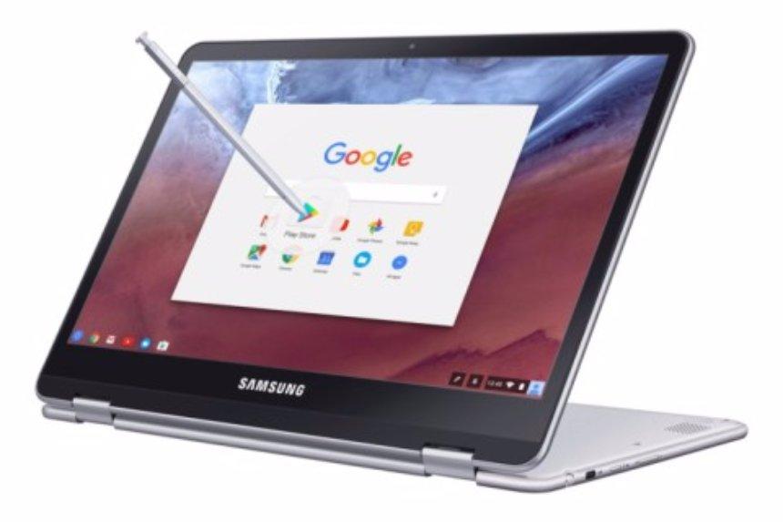 Создан новый мощный ноутбук Samsung Chromebook Pro