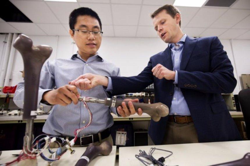 Ученые разработали «умные» протезы