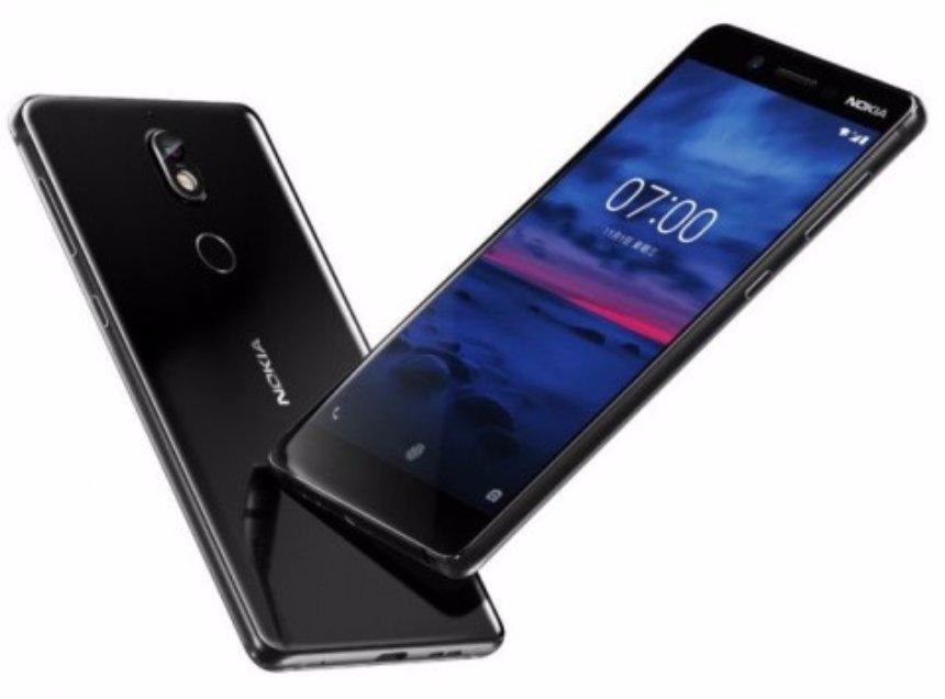 Новая модель Nokia 7 получила стеклянную заднюю крышку