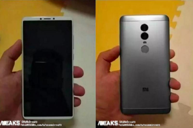 Найдены характеристики телефона Xiaomi Redmi Note 5