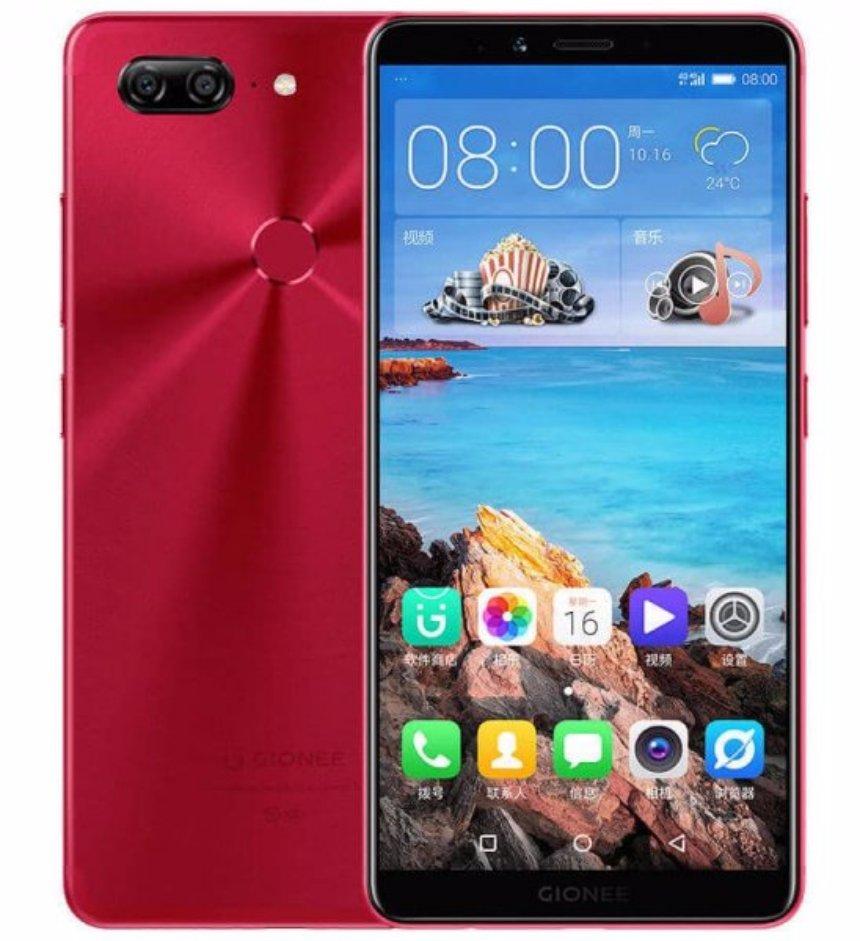 Анонсирован новый бюджетный смартфон Gionee F6