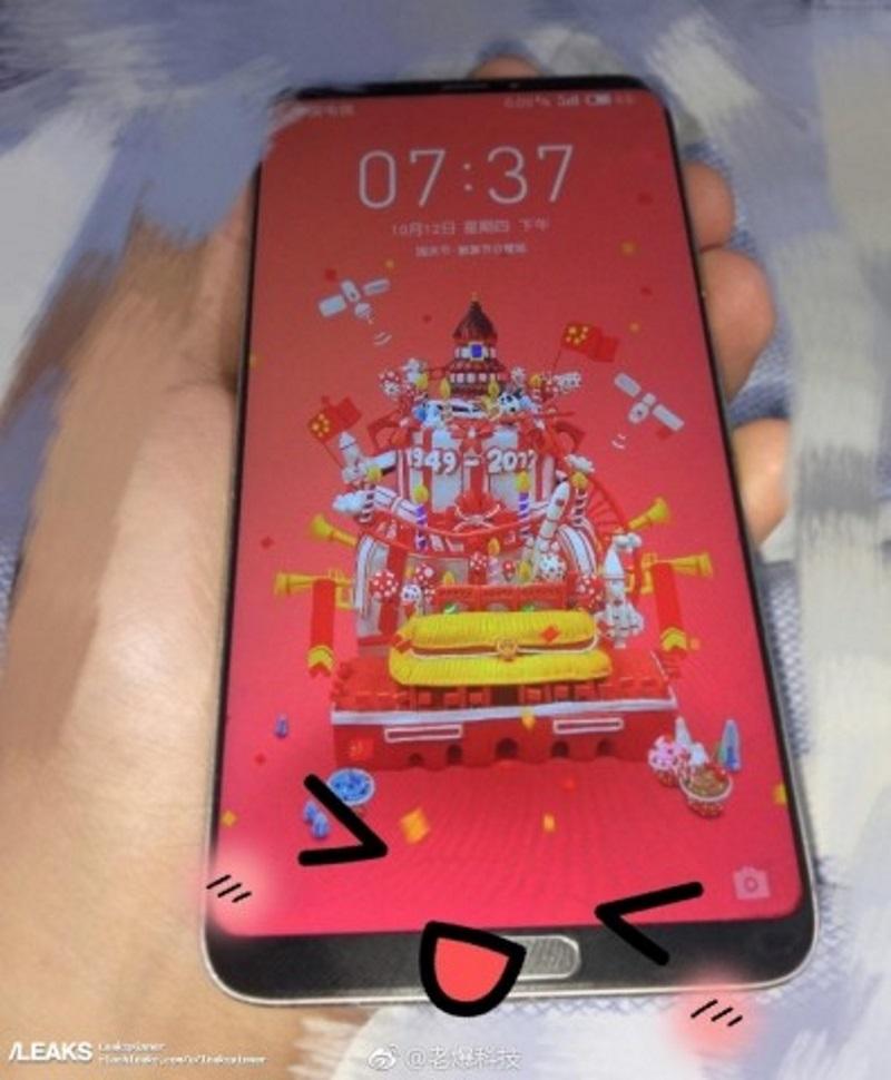 Фотошпионы выложили в сеть снимки нового безрамочного Meizu