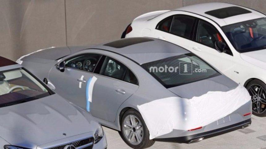 Новая модель Mercedes-Benz CLS получит потрясающую мощность