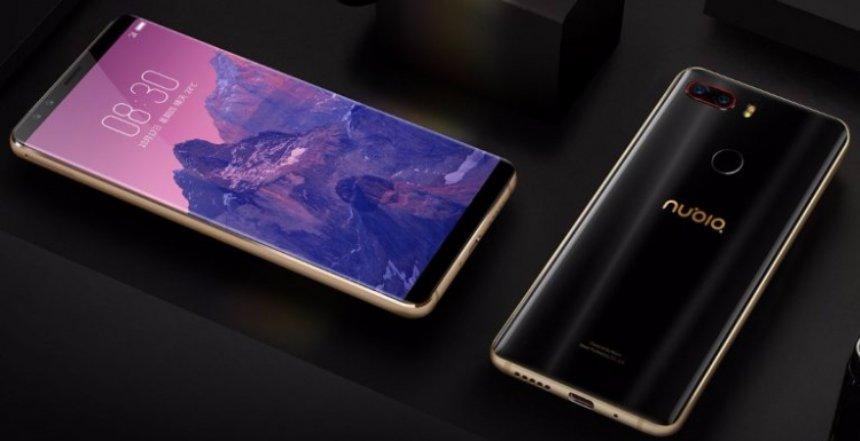 ZTE представила новый смартфон с четырьмя камерами