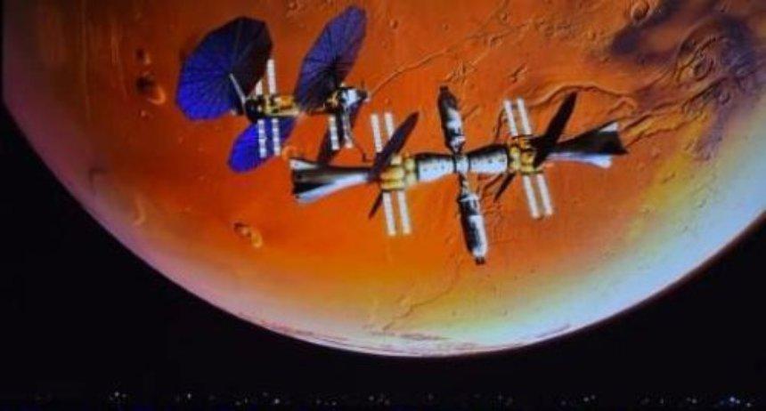 В США создали марсианский модуль, работающий на воде