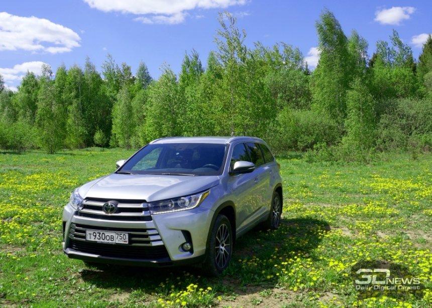 Представлен обновленный внедорожник Toyota Highlander