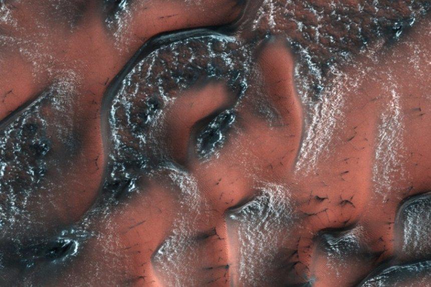 На Марсе есть много воды