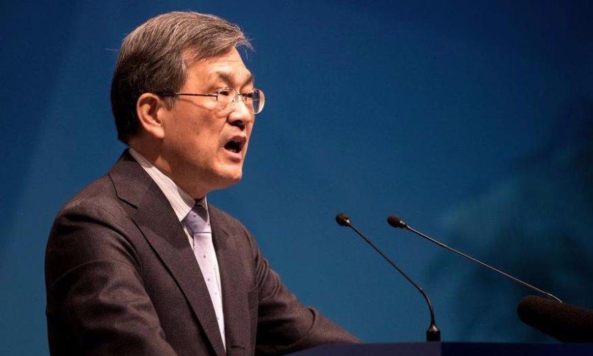 Гендиректор Samsung подал в отставку