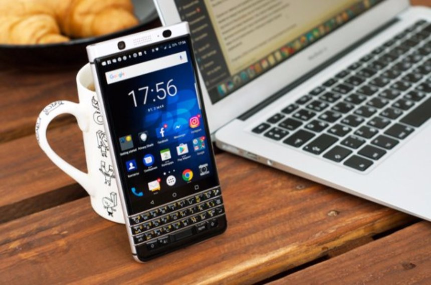 В Сети появилась информация о наследнике смартфона BlackBerry KEYone с клавиатурой QWERTY