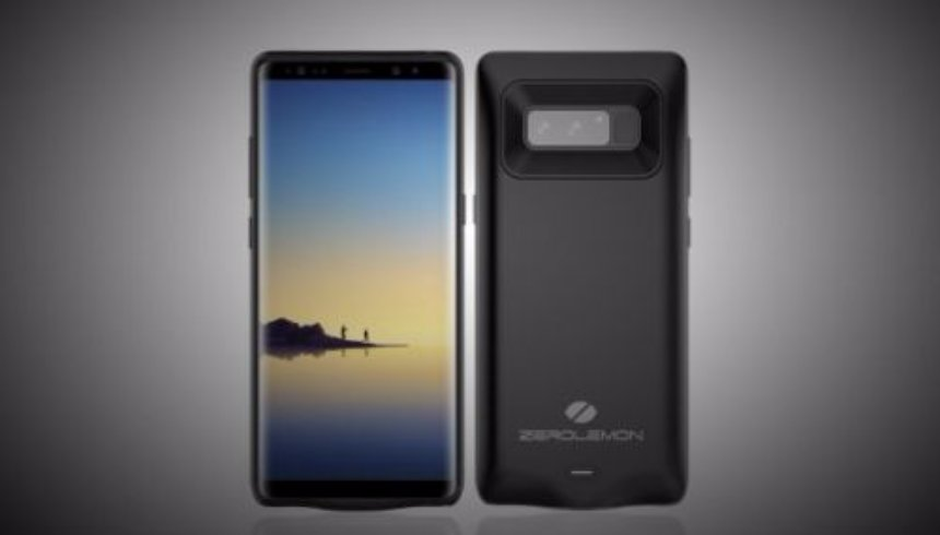 Представлен новый чехол-аккумулятор для  Samsung Galaxy Note 8