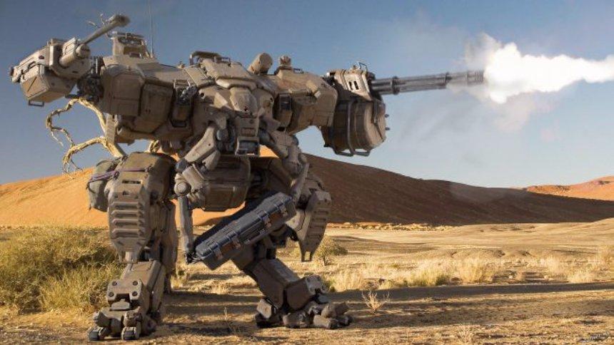 В России начнут строить боевые роботы