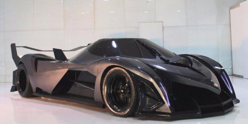 Дубайские конструкторы работают над самым быстрым в мире суперкаром