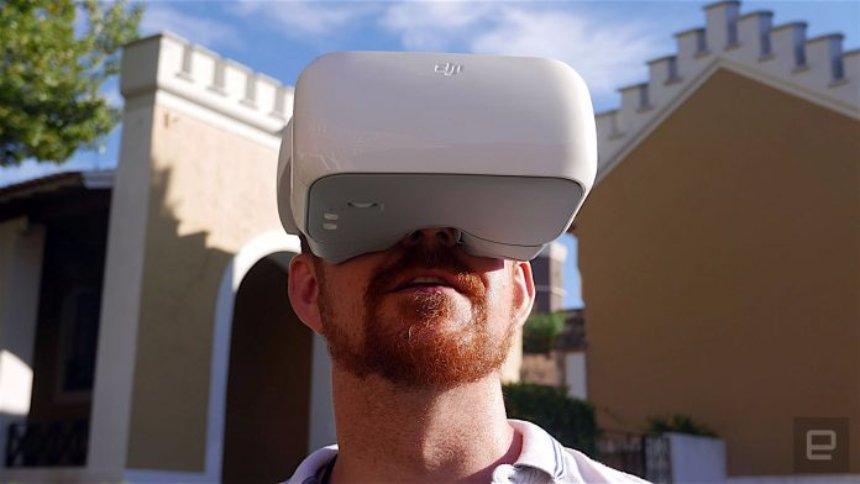 Для управления дронами придумали специальные очки