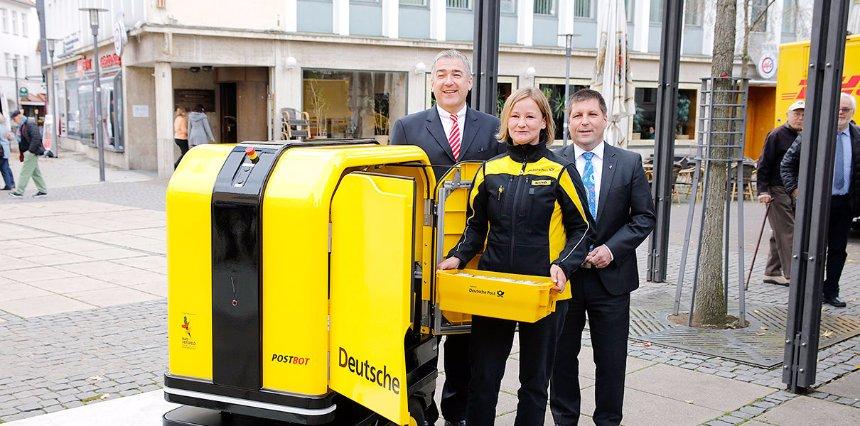 В Германии тестируют роботов-почтальонов
