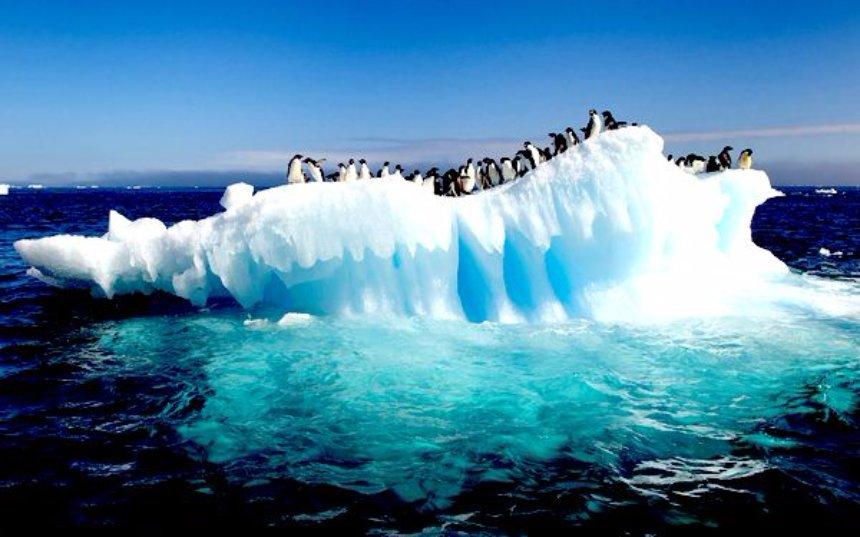 Антарктида начала таять снизу