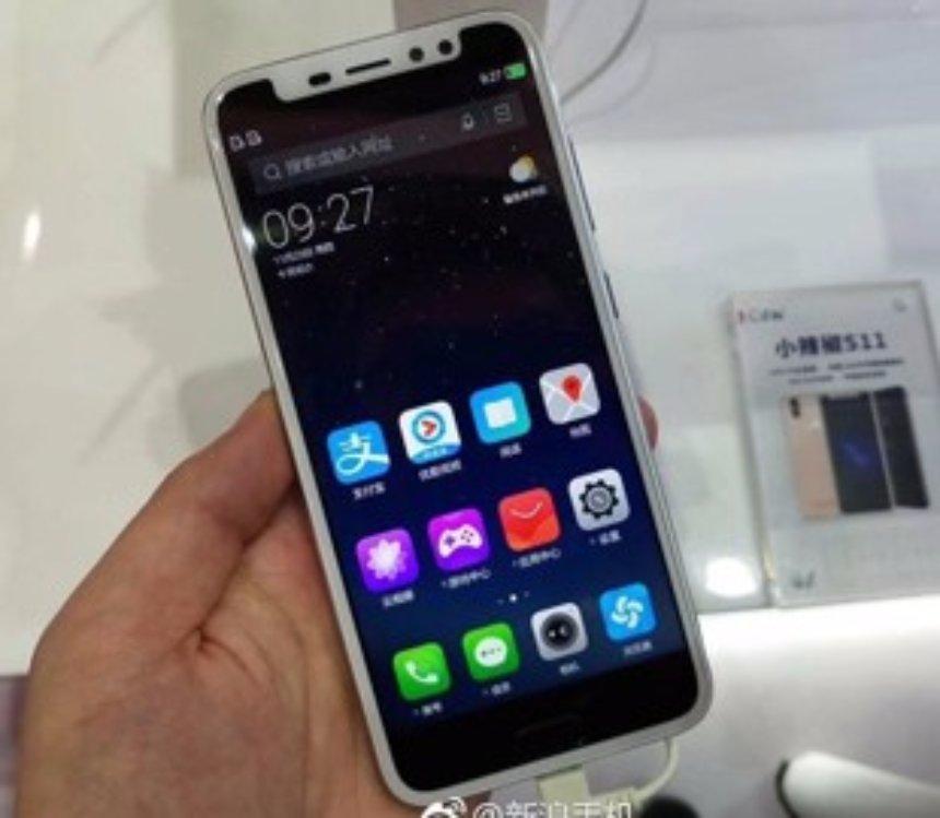 В Китае выпустили клон iPhone X со сканером отпечатков пальцев