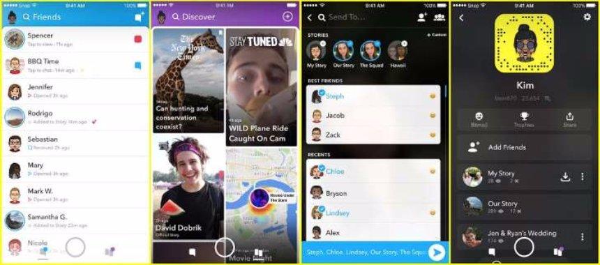 Snapchat запускает огромное обновление