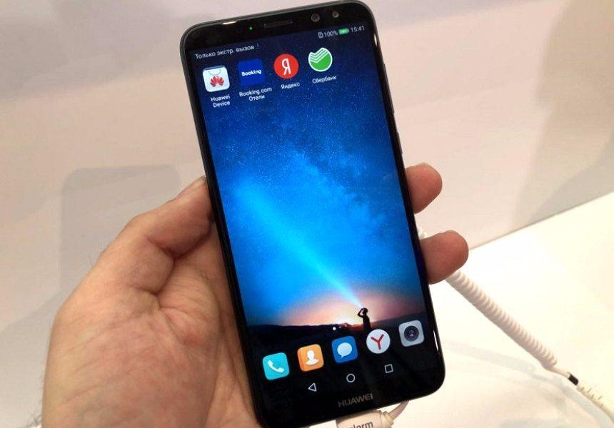 Объявлена русская цена безрамочного телефона Huawei Nova 2i счетырьмя камерами