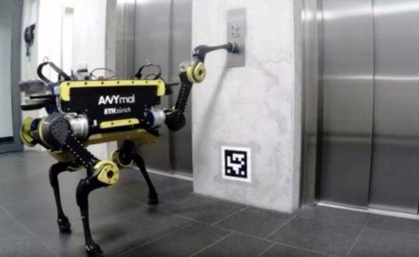 Роботы теперь умеют пользоваться лифтами