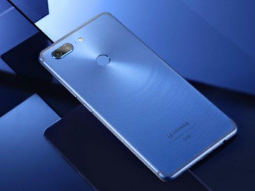 Gionee выпустит бюджетный смартфон с FullView-экраном