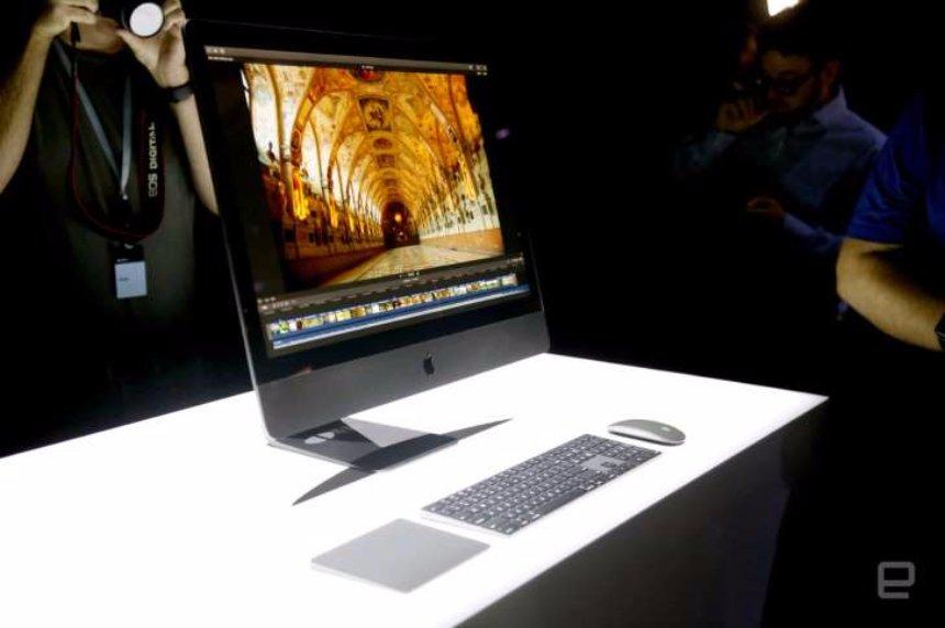iMac Pro от Apple может получить голосовое управление Siri