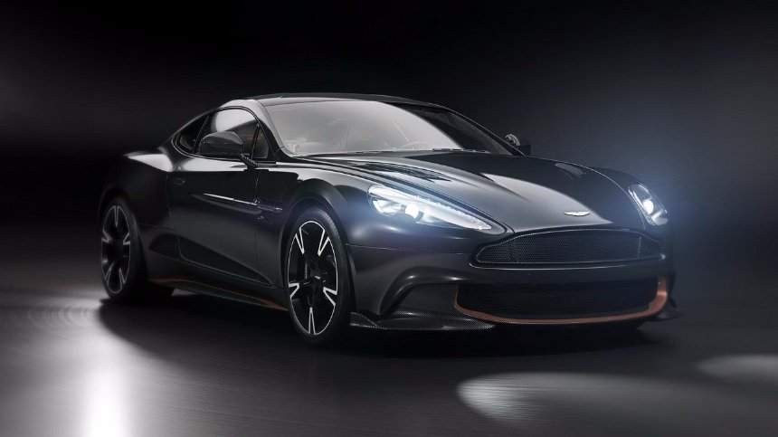 Компания Aston Martin выпустила последнюю версию Vanquish