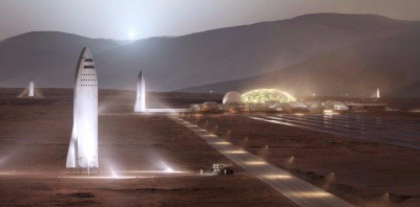 Ученые рассказали, почему строить поселения на Марсе бессмысленно