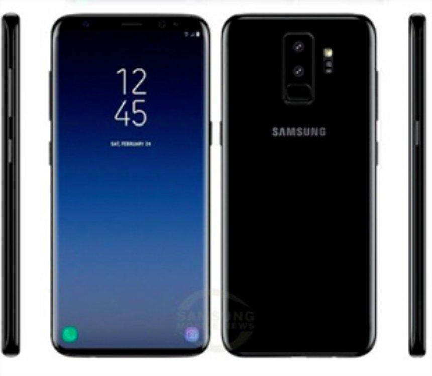 Появились качественные рендеры Samsung Galaxy S9 и Galaxy S9+