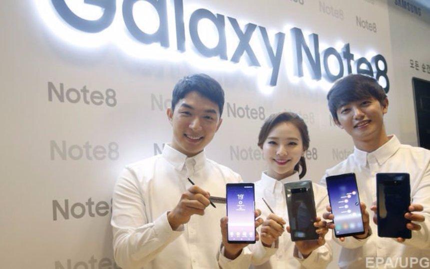 Samsung Galaxy Note 8 массово подвисает