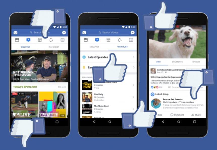 Facebook запускает интерактивное телевидение