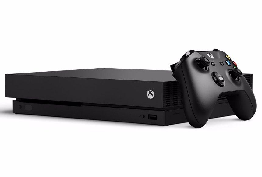 Microsoft Xbox One X: крутая консоль по приятной цене
